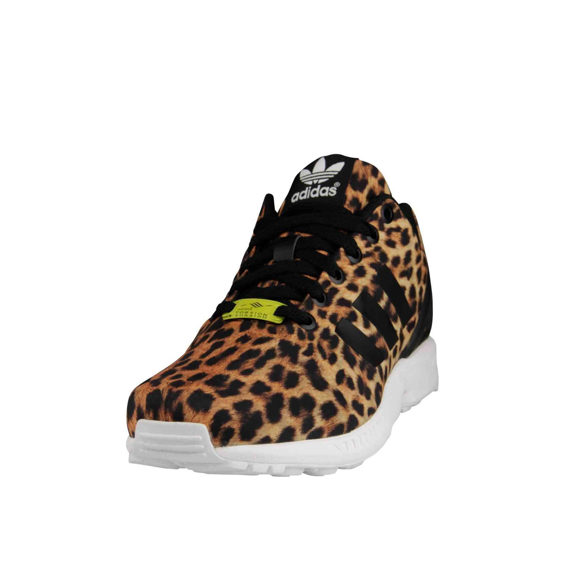 adidas zx flux leopard